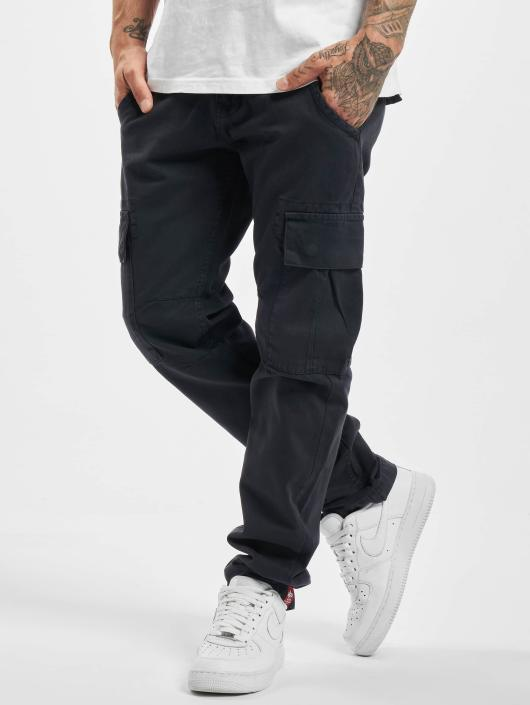 Alpha Industries Cargo pants Agent modrý