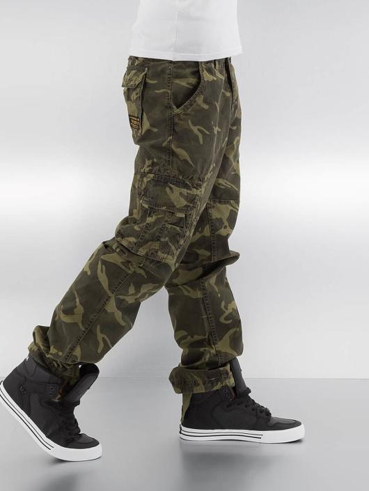 Alpha Industries Cargobroek Jet camouflage