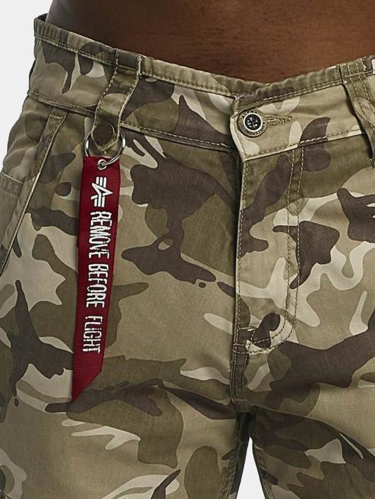 Alpha Industries Cargohose Agent C camouflage