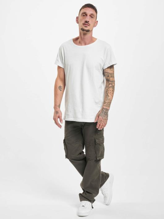 Alpha Industries Cargohose Jet grau