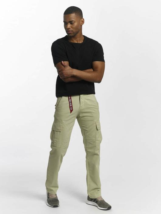 Alpha Industries Chino bukser Agent brun