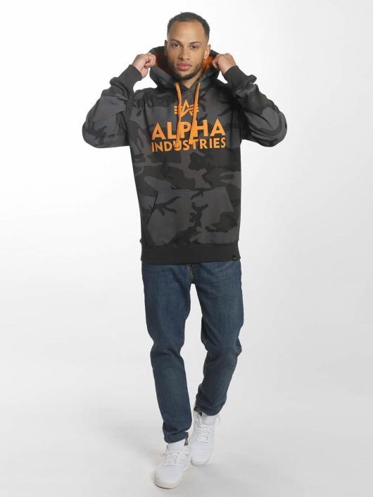 Alpha Industries Hettegensre Foam Print svart