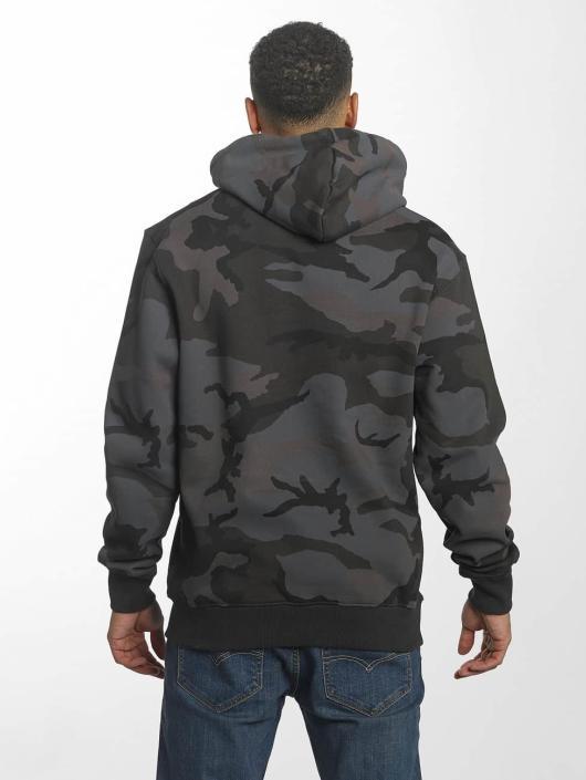Alpha Industries Hoodie Foam Print black