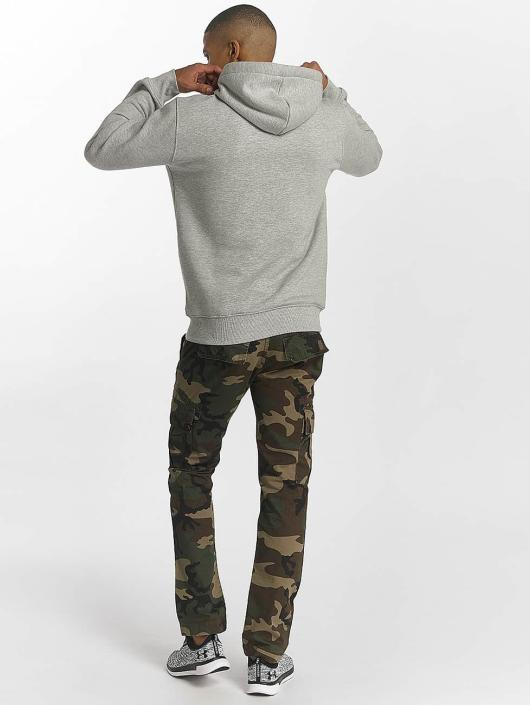 Alpha Industries Hoodie Foam Print grey