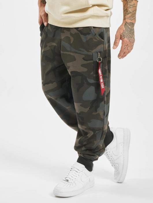 Alpha Industries joggingbroek X-Fit Cargo camouflage