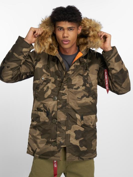 Alpha Industries Manteau hiver N3B VF 59 camouflage