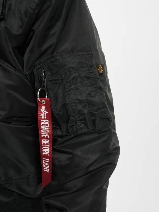 Alpha Industries Manteau hiver 45P Hooded Custom noir