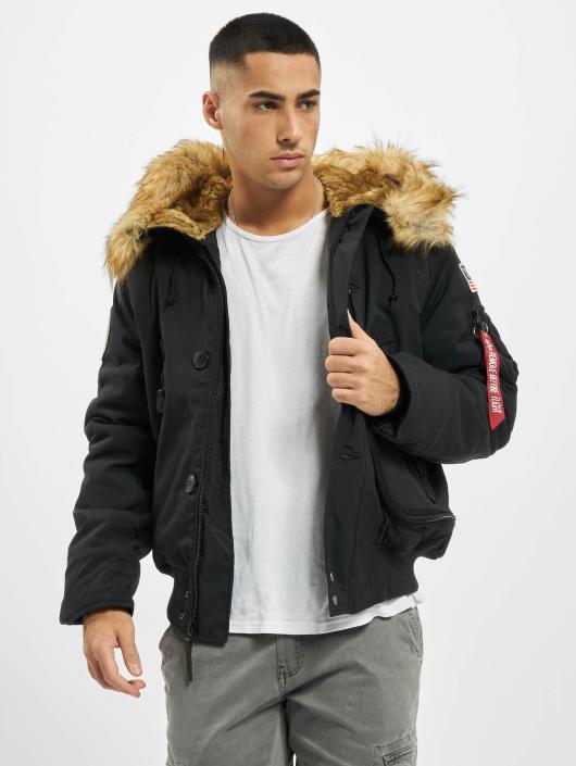 Alpha Industries | Polar noir Homme Manteau hiver 134348