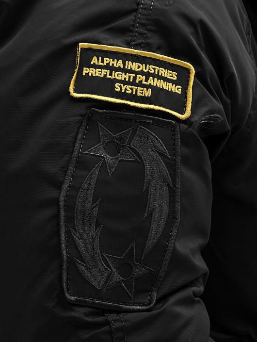 Alpha Industries Manteau hiver PPS N2B Bomber noir