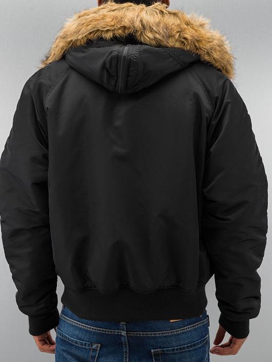 Alpha Industries Manteau hiver N2B noir