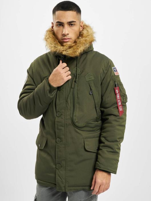 Alpha Industries Manteau hiver Polar vert