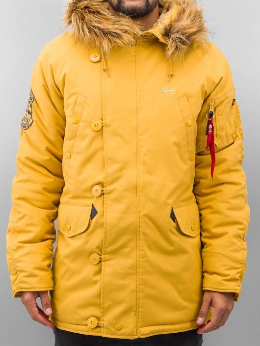 Alpha Industries Manteau Explorer jaune