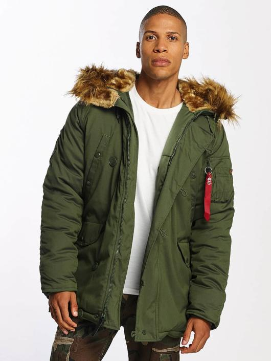 Alpha Industries Mantel Explorer grün