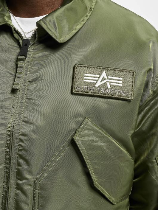 Alpha Industries Pilotjakke CWU/45P Flight grøn