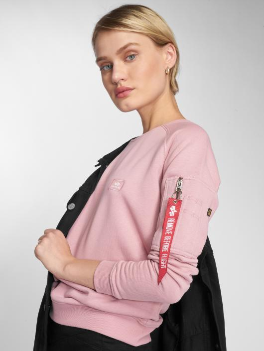 Alpha Industries Pullover X-Fit pink