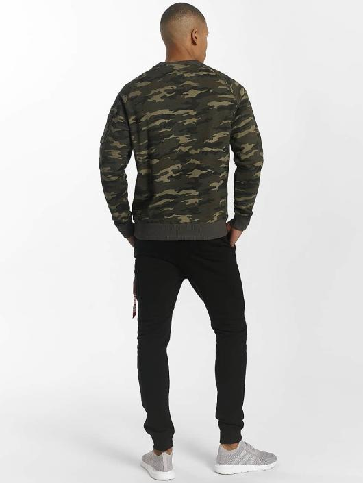 Alpha Industries Pulóvre X-Fit zelená