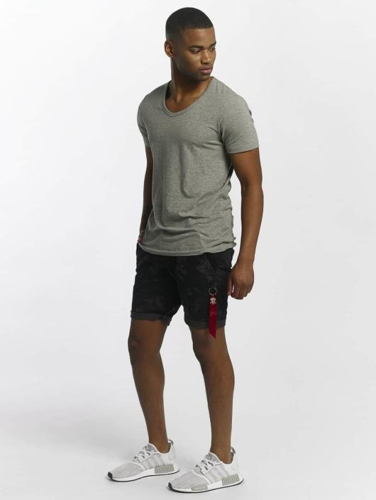 Alpha Industries Short Kerosene noir