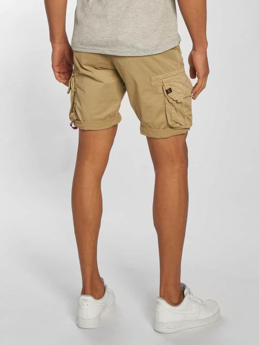 Alpha Industries Shorts Crew beige