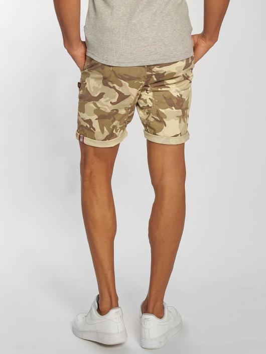 Alpha Industries Shorts Kerosene camouflage