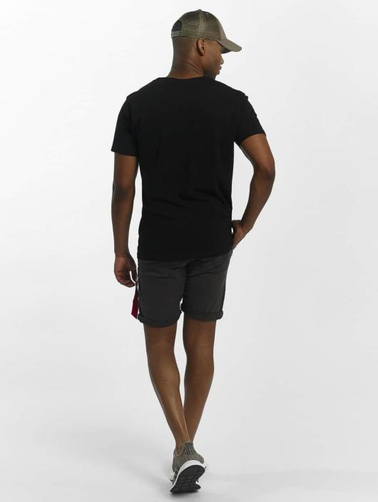 Alpha Industries Shorts Kerosene grau