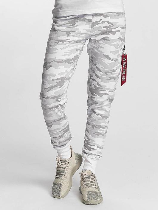 Alpha Industries Spodnie do joggingu X-Fit bialy