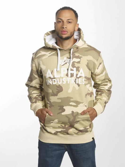 Alpha Industries Sweat capuche Foam Print camouflage