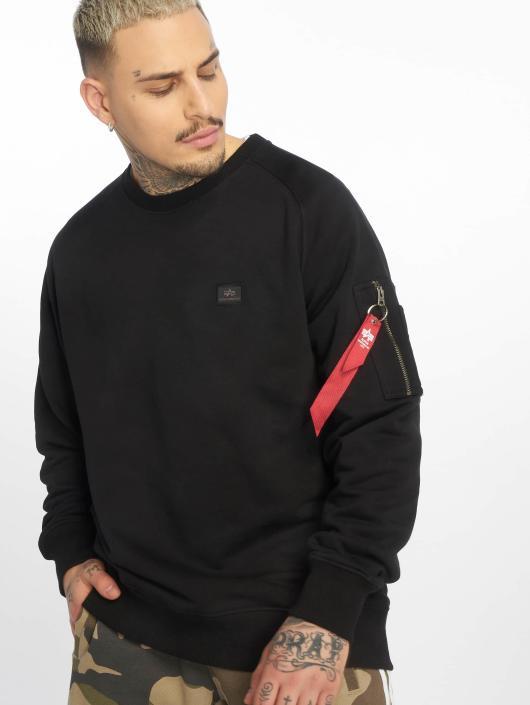 Alpha Industries Swetry X-Fit czarny