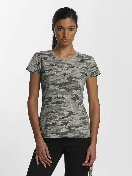 Alpha Industries T-shirt Basic T Wmn grå
