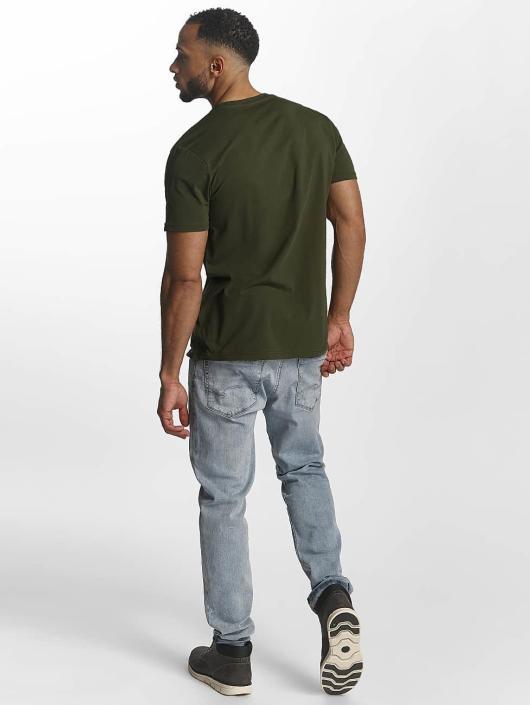 Alpha Industries T-Shirt Basic green