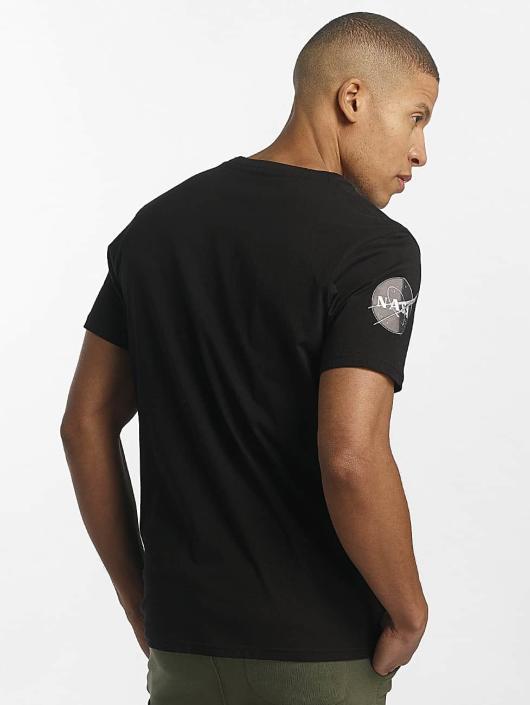 Alpha Industries T-skjorter NASA svart