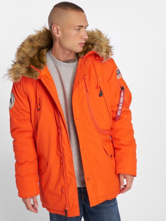 Alpha Industries Talvitakit Polar oranssi  Alpha Industries Talvitakit  Polar oranssi ... af24256dbe
