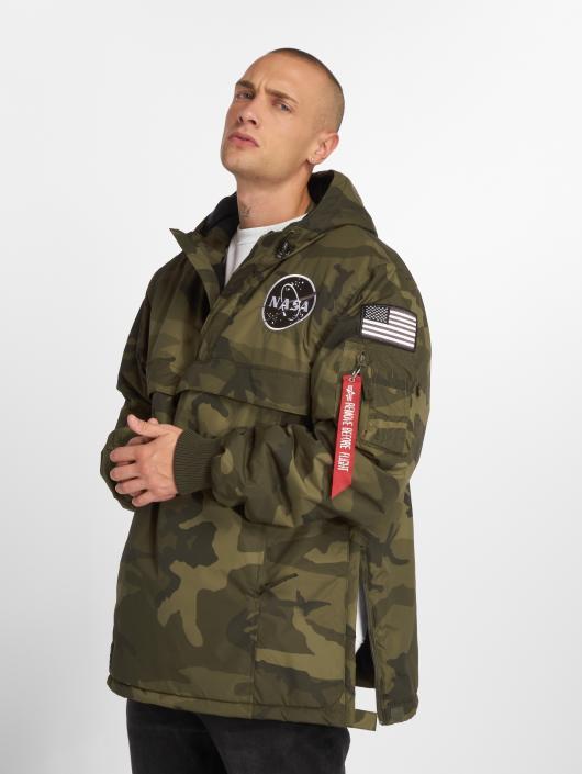 Alpha Industries Välikausitakit NASA Anorak camouflage  Alpha Industries  Välikausitakit NASA Anorak camouflage ... 402dc54428