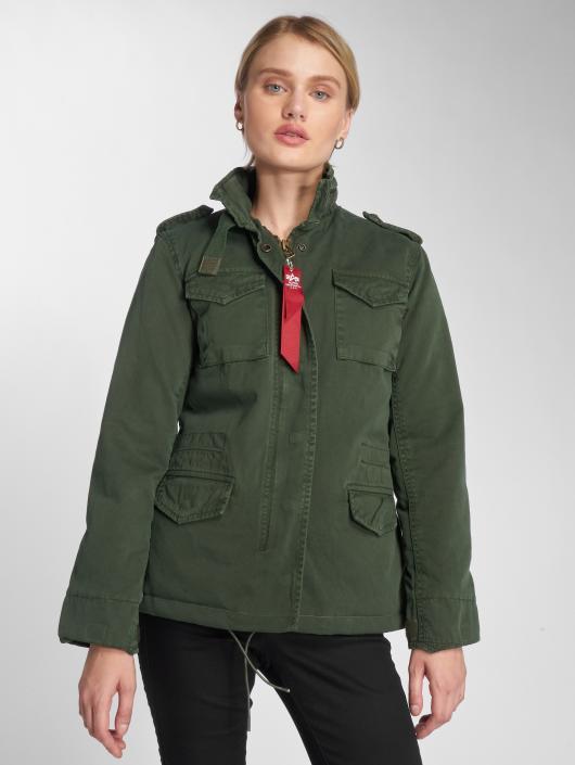 saison Mi Légère M65 Olive Alpha Vintage Cw Veste Field Femme Industries 497187 DWEIYe29H