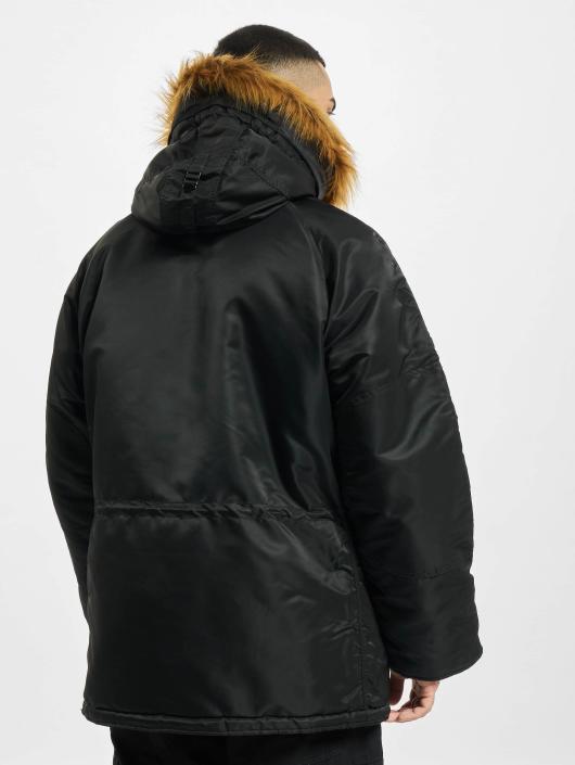 Alpha Industries Winterjacke N3B schwarz