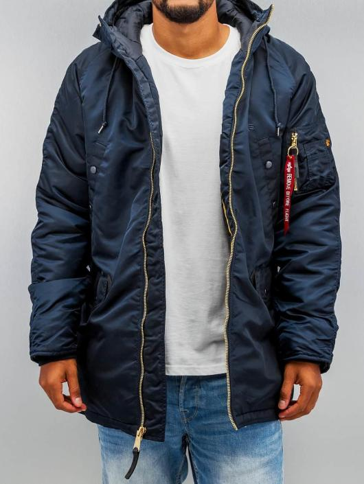 Alpha Industries winterjas N3-B PM blauw