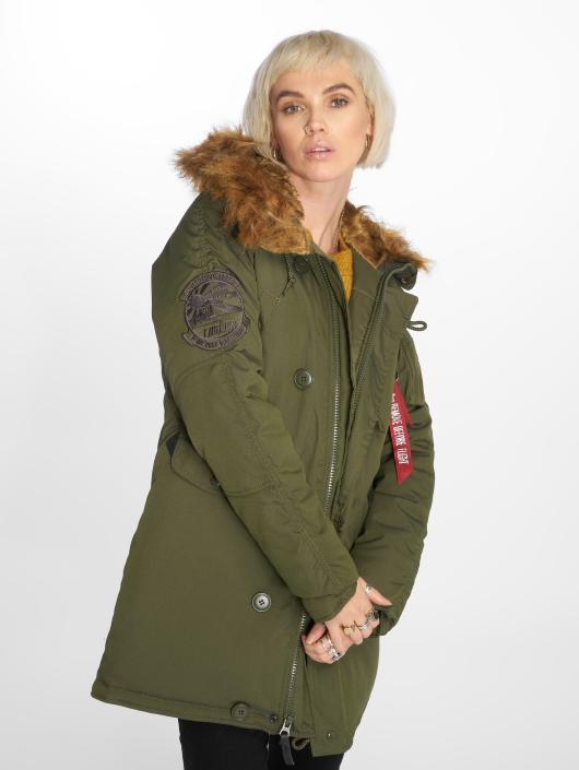 Alpha Industries winterjas Explorer groen