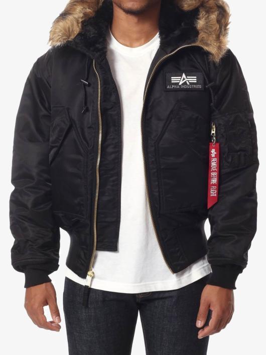 Alpha Industries winterjas 45 P zwart