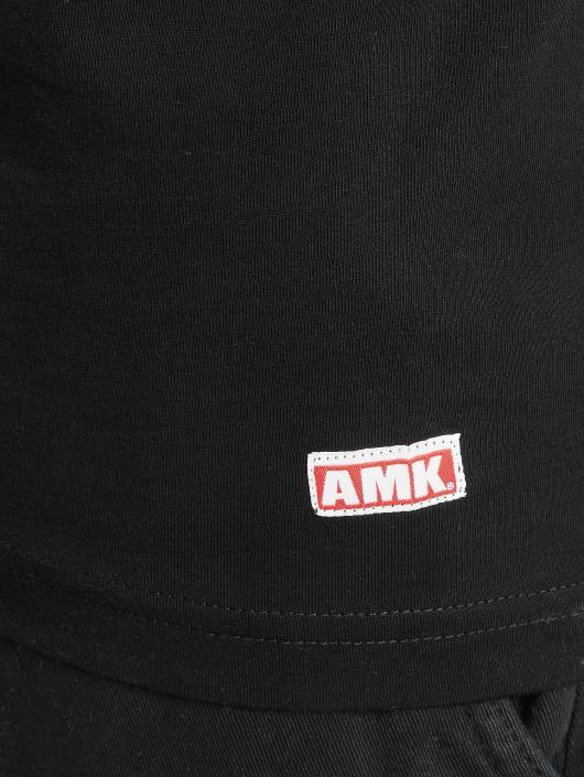 AMK T-Shirt Muscle Mouse schwarz