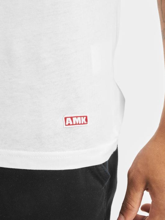 AMK T-Shirt Wave weiß