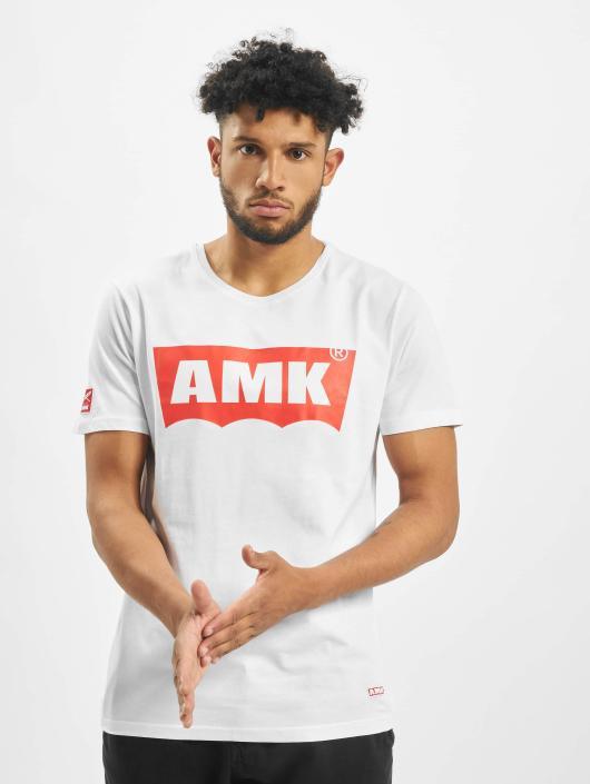 AMK T-skjorter Wave hvit