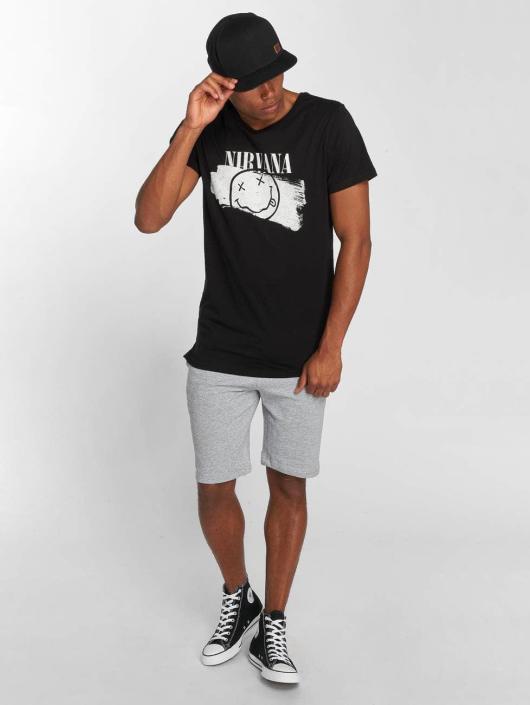 Amplified T-Shirt Nirvana Torn black