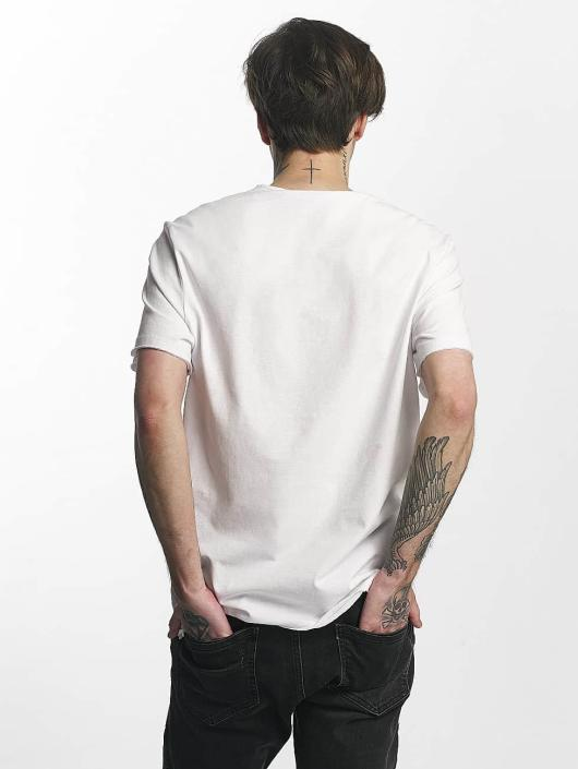 Amplified T-Shirt Rolling Stones Tongue Era blanc