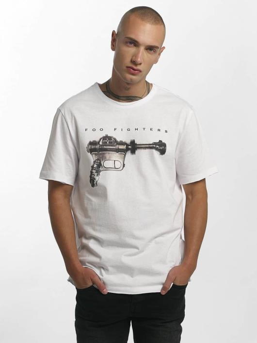 Amplified T-Shirt Foo Fighters Ray Gun blanc