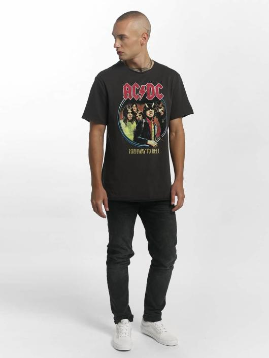 Amplified T-Shirt ACDC Highway To Hell grau