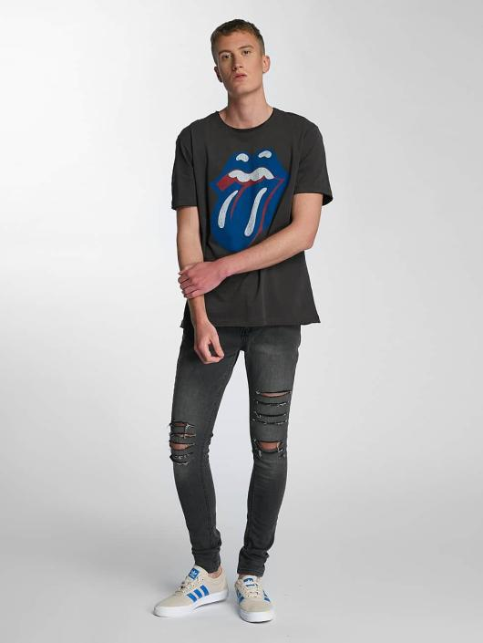 Amplified T-Shirt Rolling Stones Blue und Lonesome gray