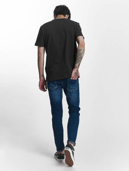 Amplified T-Shirt Misfits Skull gris