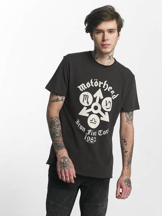 Amplified T-Shirt Motorhead Iron Fist Tour gris