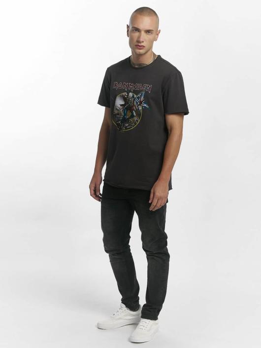 Amplified T-Shirt Iron Maiden Trooper gris