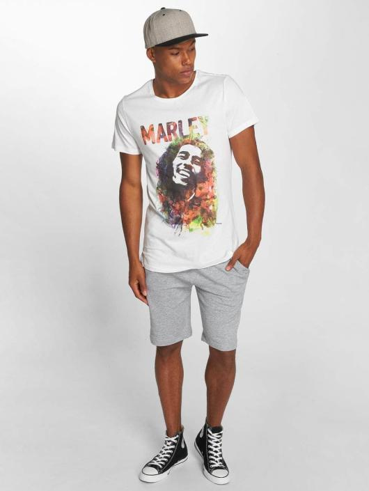 Amplified T-Shirt Bob Marley Water Color white