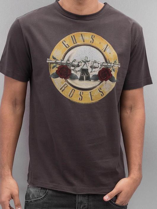 Amplified T-shirts Guns & Roses Drum grå